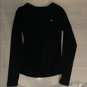 Lacoste Black Long Sleeved Cotton Shirt - NEW😍